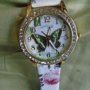 New Designer Watch Butterfly Insect Nature Flowers